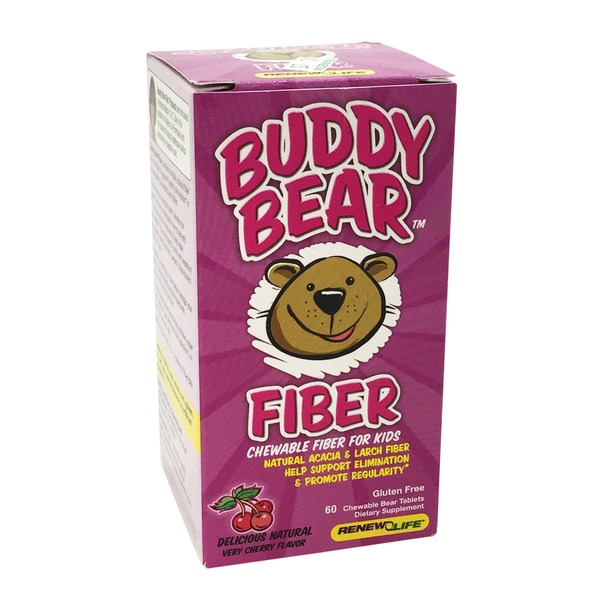 Renew Life Buddy Bear Chewable Fiber for Kids