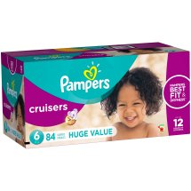 Pampers Cruisers Diapers, Size 6, 84 Diapers