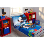 Disney Mickey Mouse Adventure Day 4-Piece Toddler Bedding Set