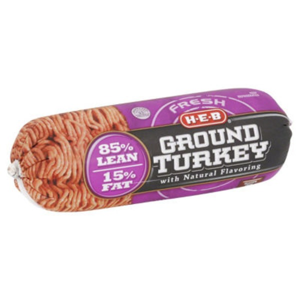 H-E-B 85/15 Ground Turkey