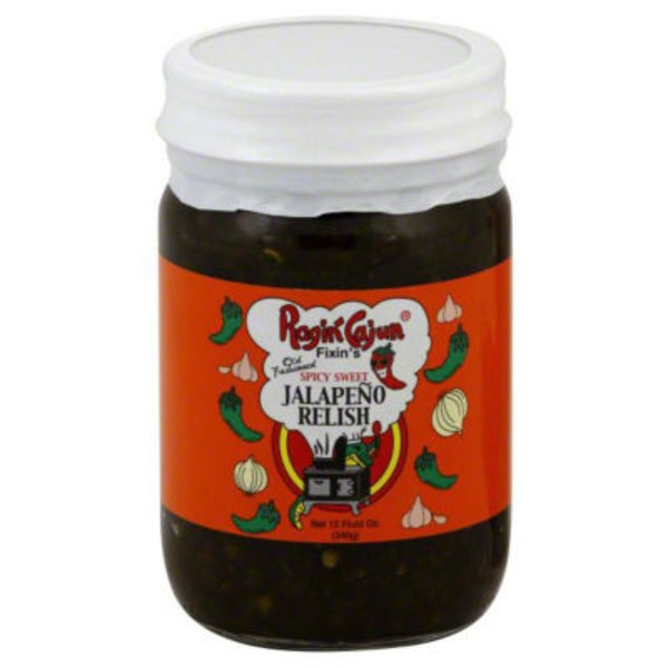 Ragin Cajun Spicy Sweet Old Fashioned Jalapeno Relish