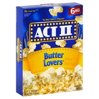 ACT II Microwave Popcorn Butter Lovers - 6