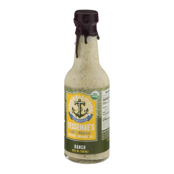 Tessemae's All Natural All Natural Dressing, Marinade, Dip Ranch