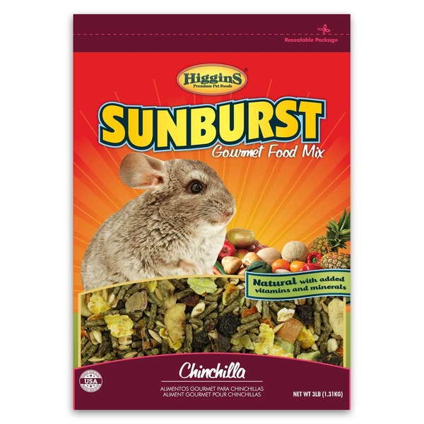 Higgins Sunburst Gourmet Food Mix Chinchilla