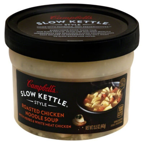 Campbell's Slow Kettle Roasted Chicken Noodle Soup