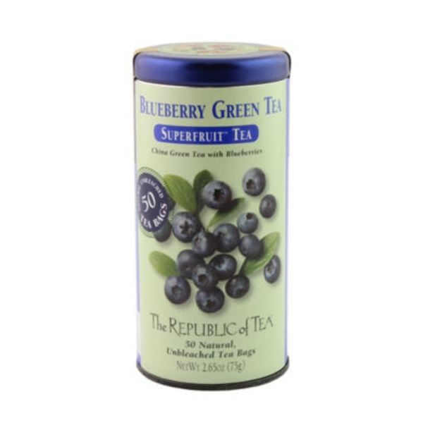 The Republic of Tea Superfruit Blueberry Green Tea