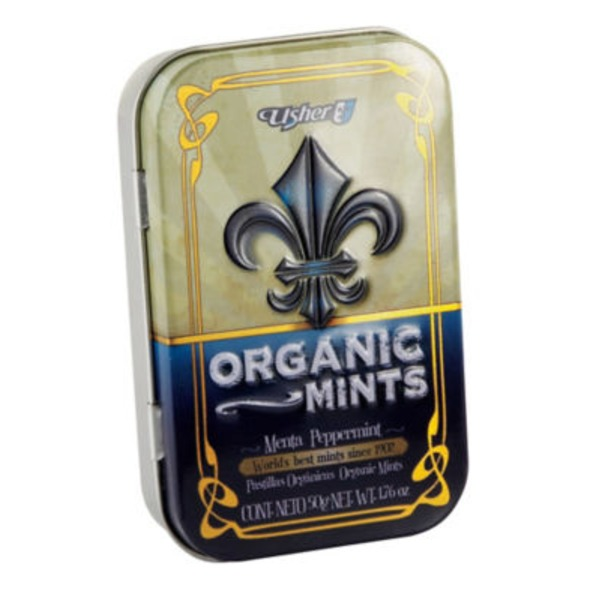 Usher Organic Peppermint Mints