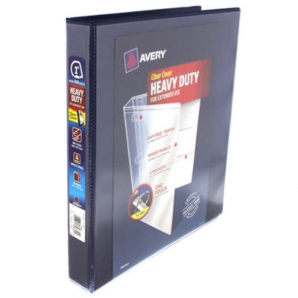 Avery Binder Clear Cover Heavy Duty