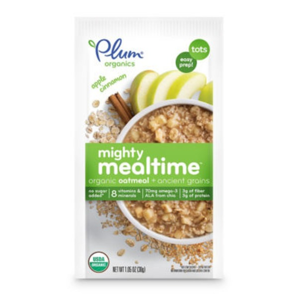 Plum Baby Organic Apple Cinnamon + Ancient Grains Oatmeal