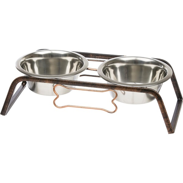 Loving Pets Black Label Collection Rustic Bone Diner