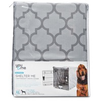 You & Me Shelter Me Lightweight Crate Cover Extra Large For Crates 42