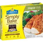 Gorton's Simply Bake Signature Seasoning Tilapia Fillets, 2 count, 9 oz