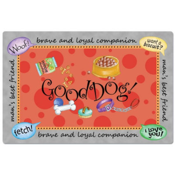 Conimar Good Dog Pet Placemat