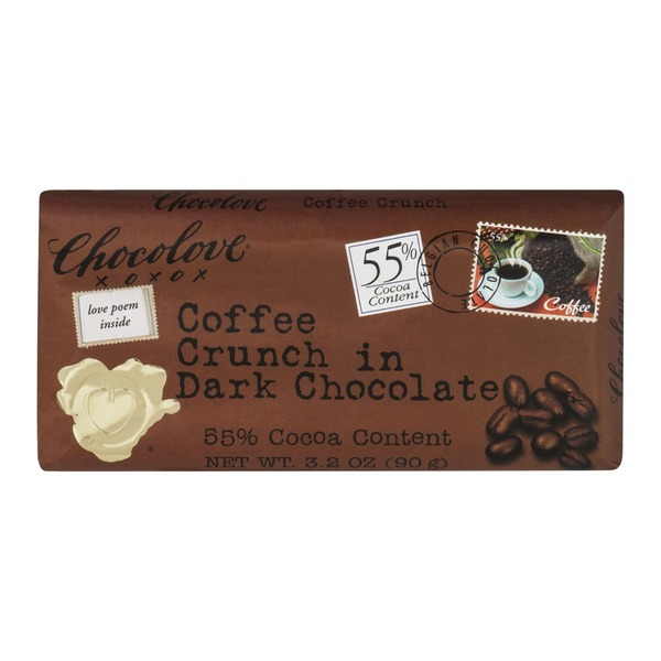 Chocolove Coffe Crunch in Dark Chocolate