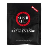 Sushi Chef Baycliff Company Sushi Chef Red Miso Soup Traditional Japanese Style