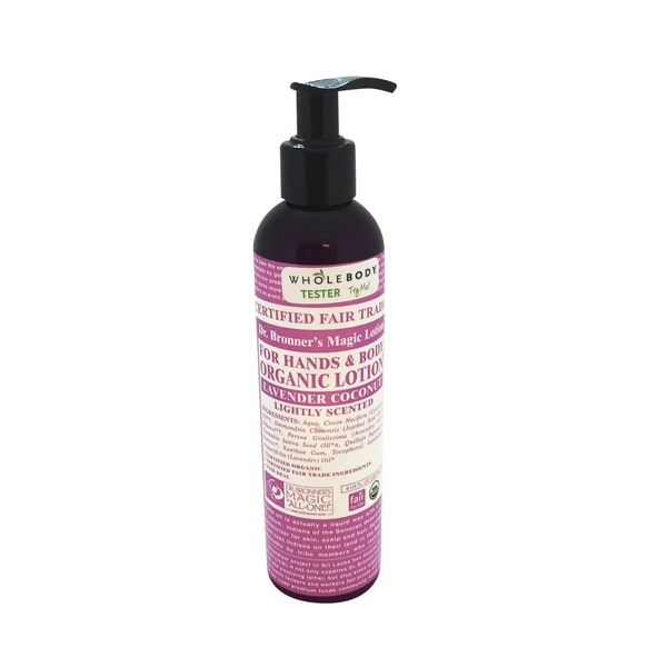 Dr. Bronner's Organic Lotion, Lavender Coconut