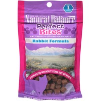 Natural Balance Perfect Bites Rabbit Formula Cat Treats