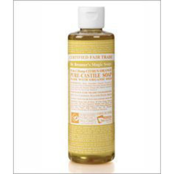 Dr. Bronner's Citrus Orange Organic Pure Castile Magic Soap