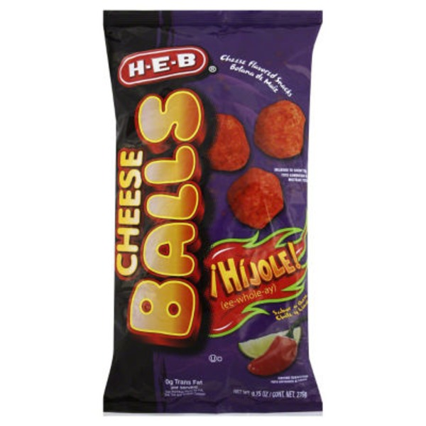 H-E-B Hijole Flavored Cheese Balls