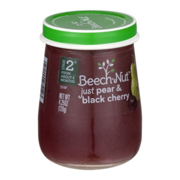 Beech-Nut Naturals Stage 2 Just Pear & Black Cherry