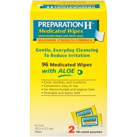 Preparation H Maximum Strength Formula Medicated Hemorrhoidal Wipes