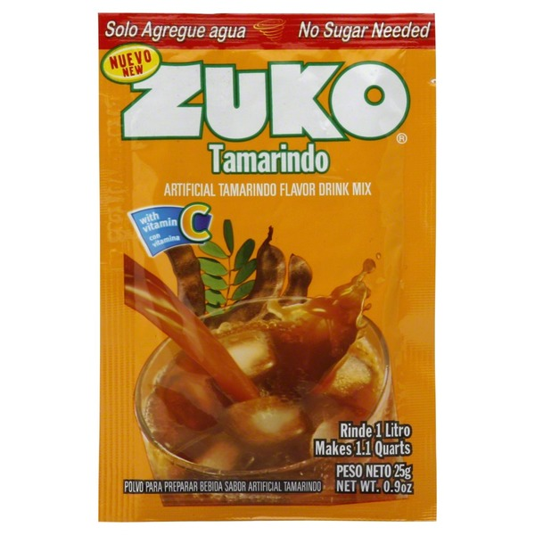 Zuko Artificial Tamarindo Flavor Drink Mix