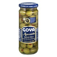 Goya Manzanilla Spanish Olives with Pimientos