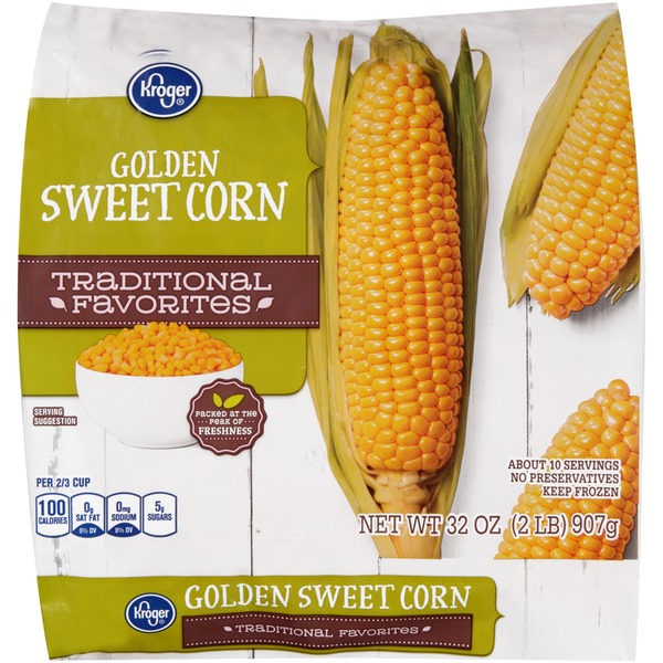 Kroger Traditional Favorites Golden Sweet Corn