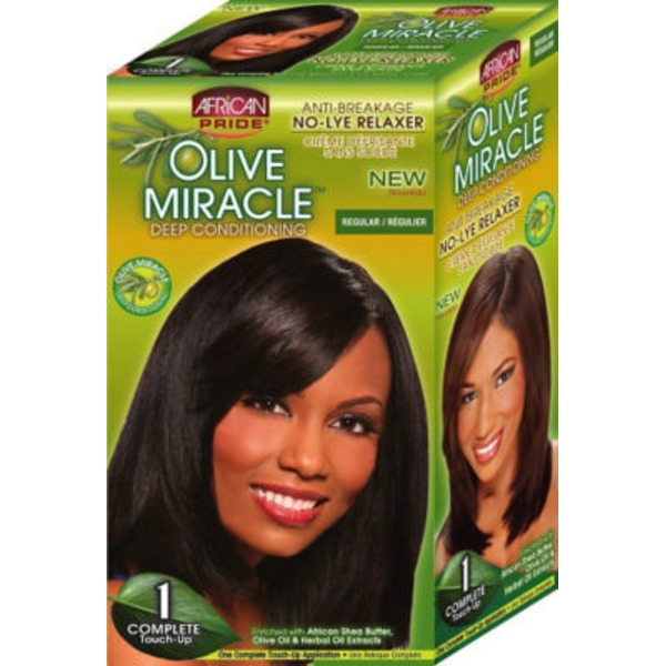 African Pride Olive Miracle Relaxer