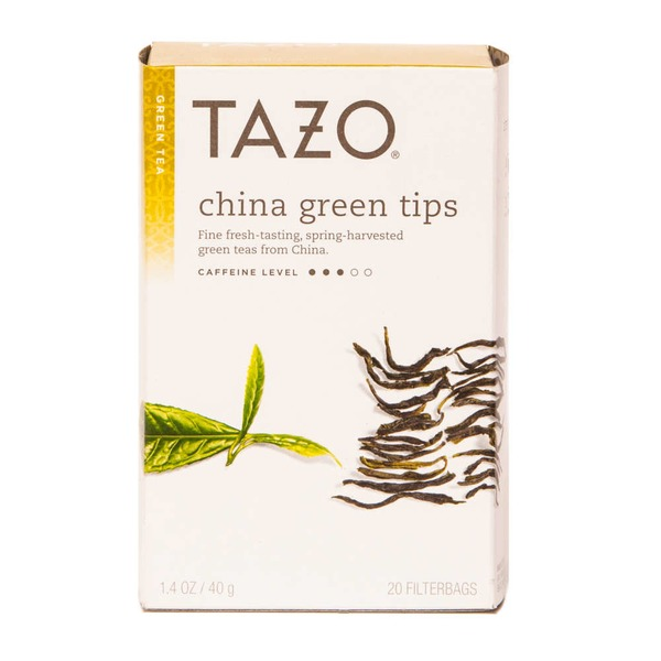 Tazo Tea Green Tea China Green Tips Tea Bags