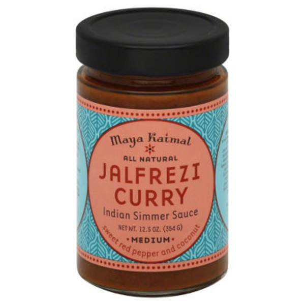 Maya Kaimal Medium Jalfrezi Curry Indian Simmer Sauce