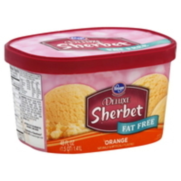 Kroger Orange Sherbet