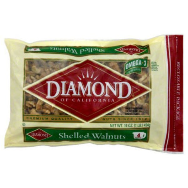 Diamond Of California® Shelled Walnuts