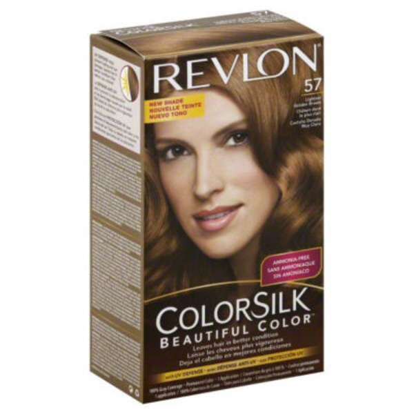 Colorsilk Hair Color, Beautiful Color, Lightest Golden Brown, 57