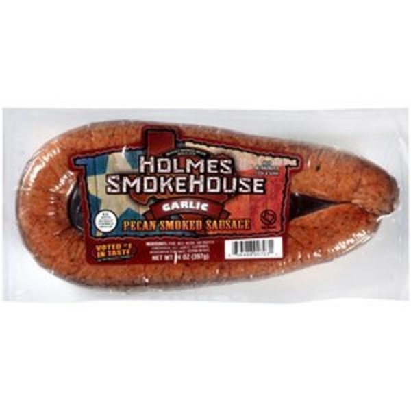 Holmes Smokehouse Pecan Smoked Garlic Sausage