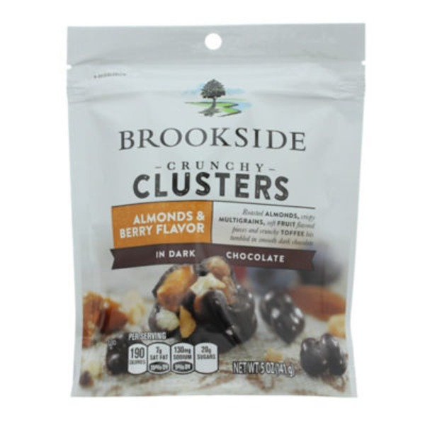 Brookside Almonds & Berry Flavor in Dark Chocolate Crunchy Clusters
