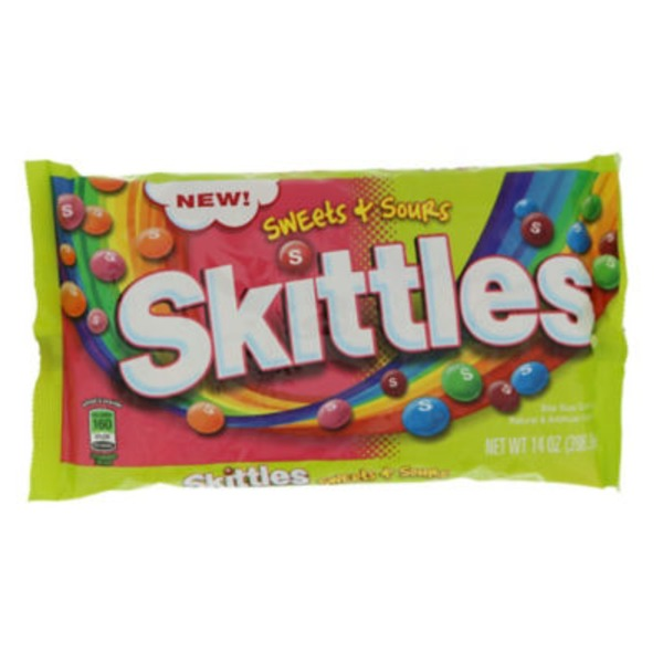Skittles Sweets + Sours