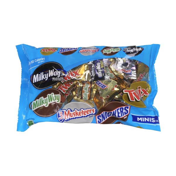 Snickers Chocolate Bars Minis Mix Variety Pack