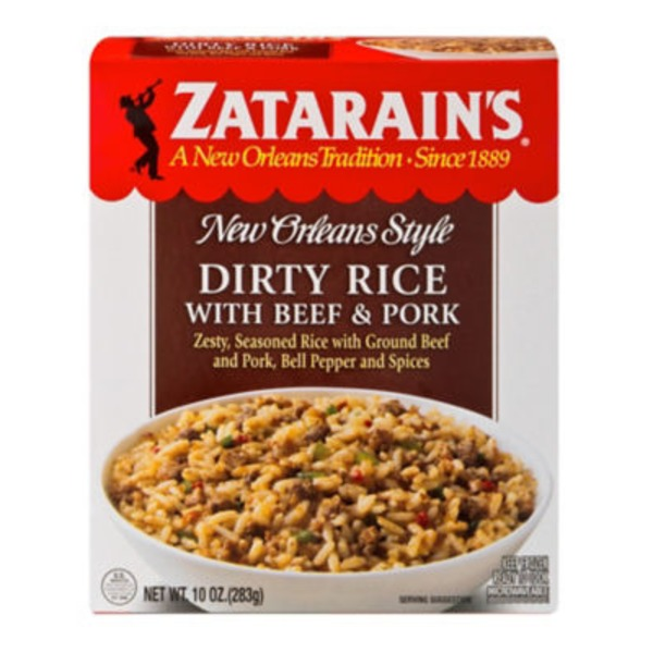 Zatarain's Dirty Rice with Beef & Pork Frozen Entree