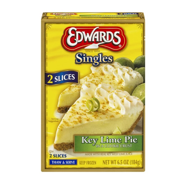 Edwards Singles Key Lime Pie - 2 CT