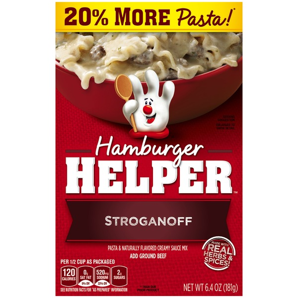 Betty Crocker Stroganoff Hamburger Helper