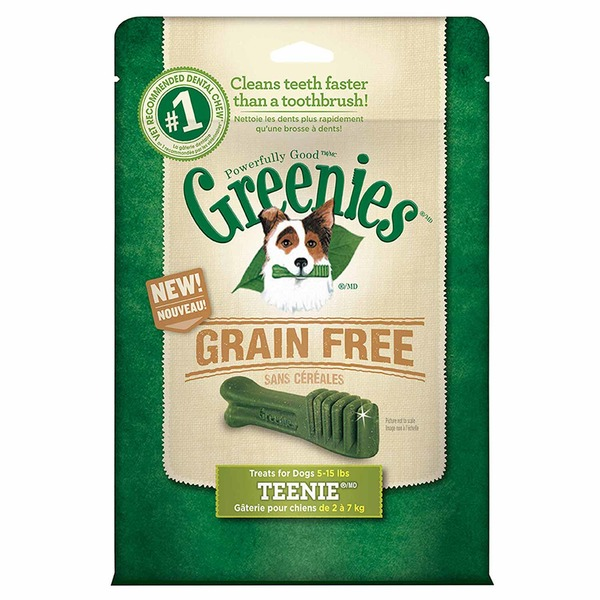 Greenies Dental Treats Grain Free Teenie Dog Treats