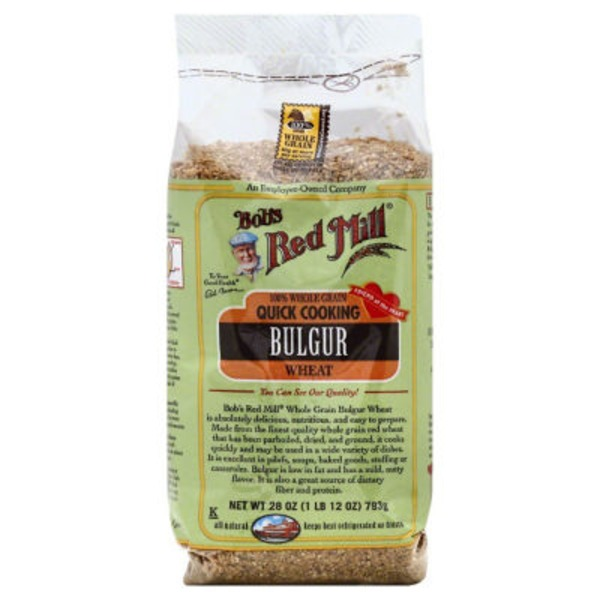 Bob's Red Mill Whole Grain Red Bulgur
