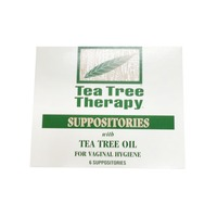 Tea Tree Therapy Vaginal Hygiene Suppositories With Tea Tree Oil
