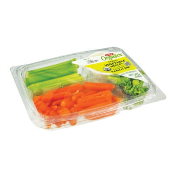 H-E-B Organics Fresh Vegetable Medley Snack Tray