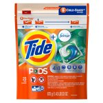 Tide PODS Laundry Detergent with Febreze, Botanical Rain, 23 count