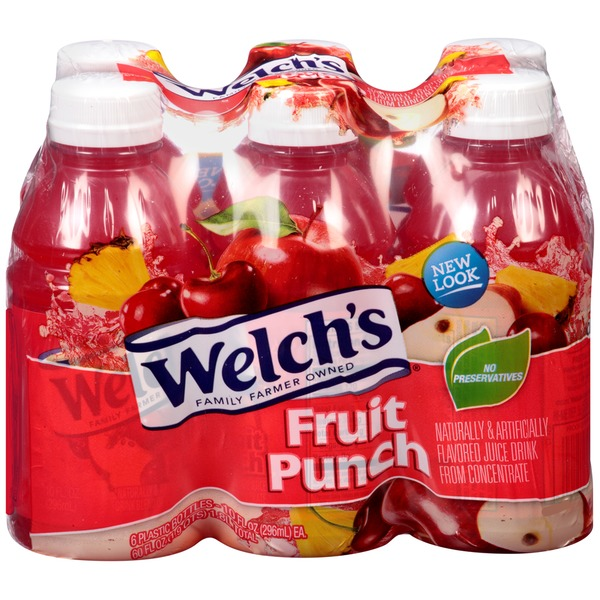 Welch's Fruit Punch Juice Drink