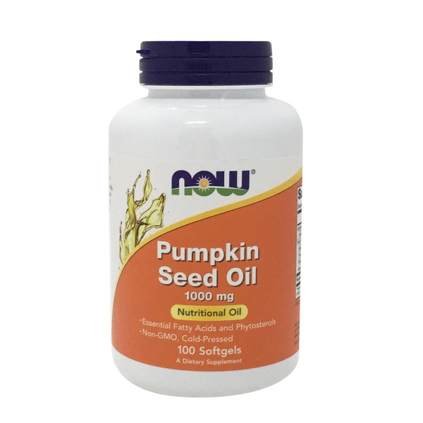 Now Pumpkin Seed Oil 1000 mg Softgels