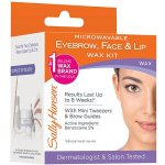 Sally Hansen Microwavable Eyebrow, Lip and Face Wax, 0.31 Oz