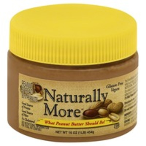 Naturally More Peanut Spread